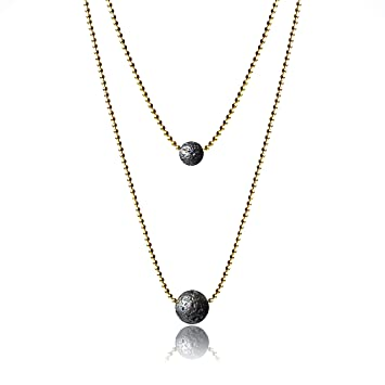 Amazon.com: Lava Rock Collar para Aceites Esenciales ...
