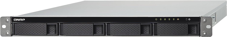 QNAP TS-453BU Ethernet Bastidor (1U) Negro NAS - Unidad Raid (Unidad de Disco Duro, SSD, Serial ATA II,Serial ATA III, 1,50 GHz, Intel® Celeron®, J3455, 1x2+2x1,4x1)