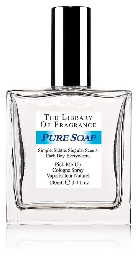 The Library of Fragrance Pure Jabón Refrescante Eau de Colonia Spray