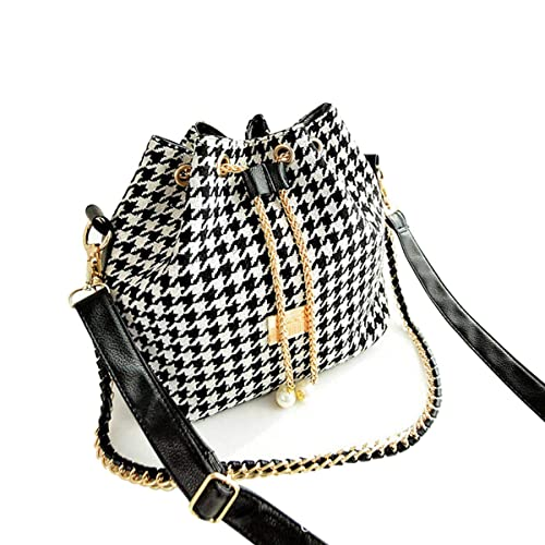 cf31611fb4aef WISH4U Damen Retro Bohemia Leder Handtasche Hobo Tote Schulter Handtasche  Bucket Bag