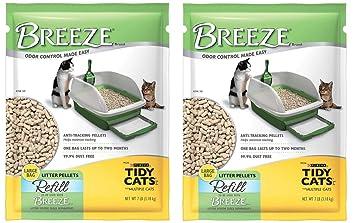 Amazon.com: Arena para gatos Tidy Cats Breeze, de 7 ...
