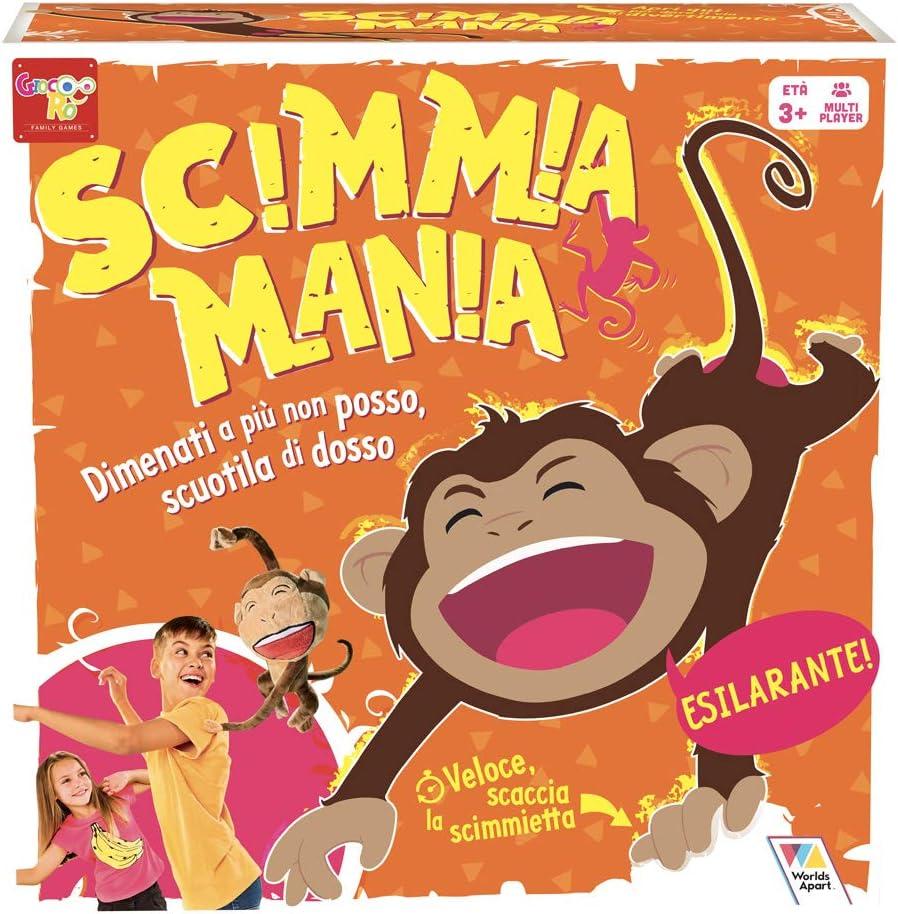 Rocco Juguetes Mono Mania marrón: Amazon.es: Juguetes y juegos