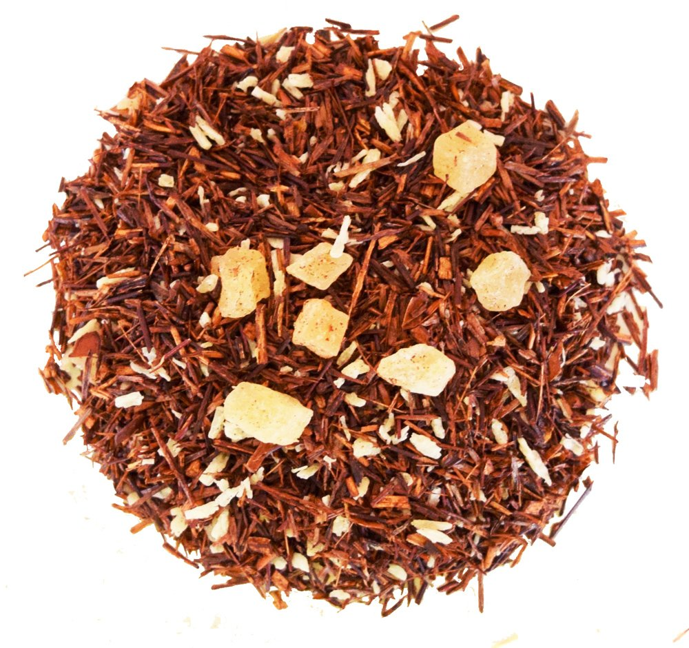 Pineapple Coconut Rooibos Tea - Red Tea - 100% Natural - Decaffeinated - Loose Leaf Tea - 8oz