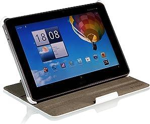 StilGut UltraSlim Case V2, custodia con funzione di supporto per Acer Iconia Tab A510 & Iconia Tab A511 & Iconia Tab A700, bianco