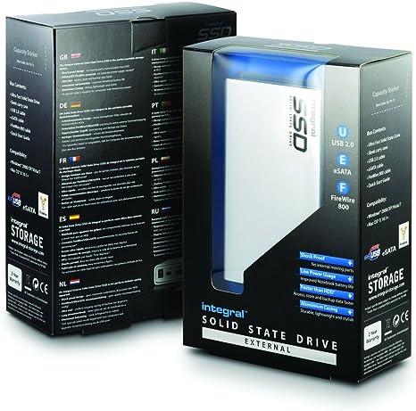 Integral SSD 64GB PC & Mac - Disco Duro sólido (64 GB, eSATA ...