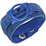 Swarovski Slake AC Activity Crystal Carrier Bracelet Women's Fabrics Blue 36cm–5225829