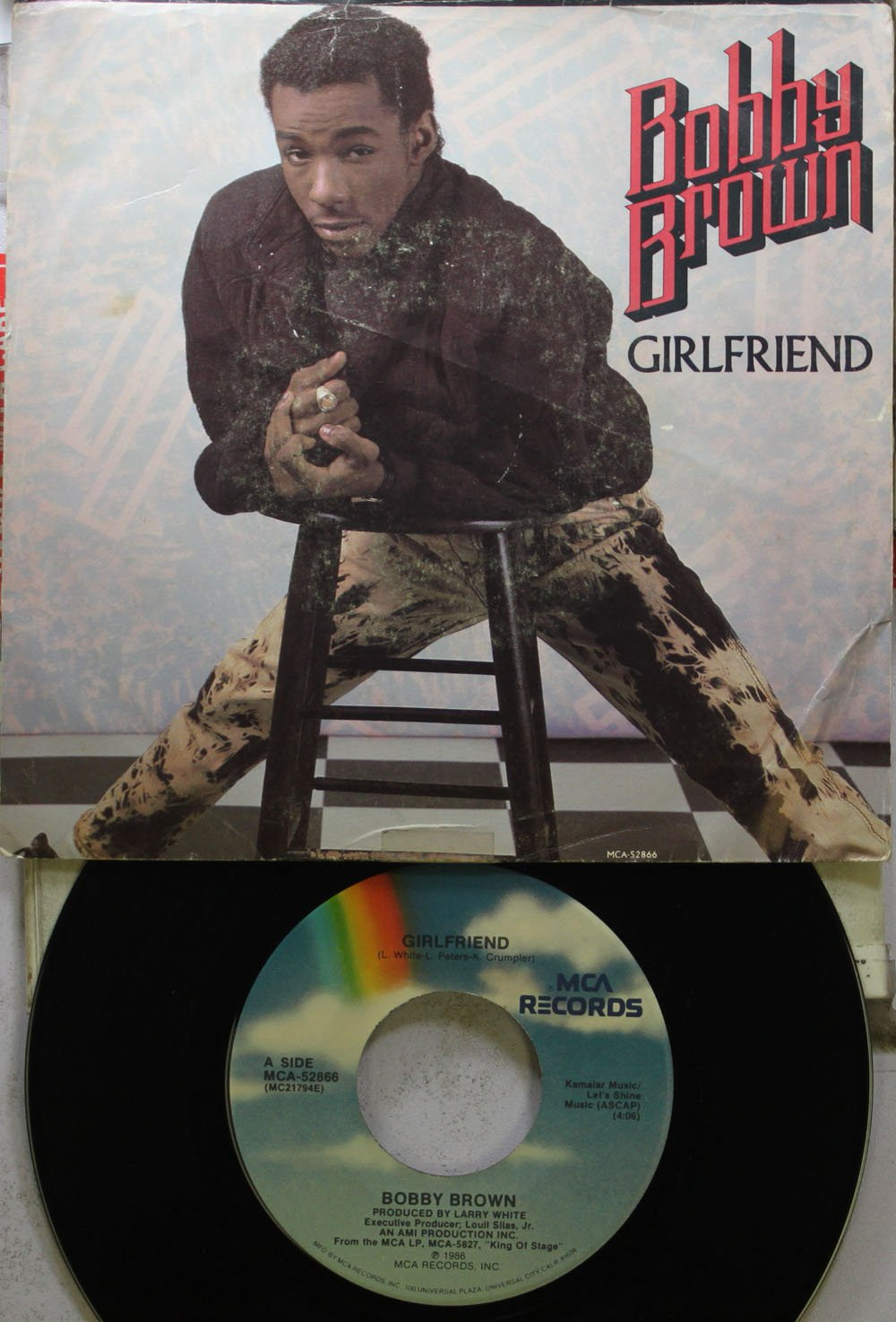 Bobby Brown 45 RPM Girlfriend ...