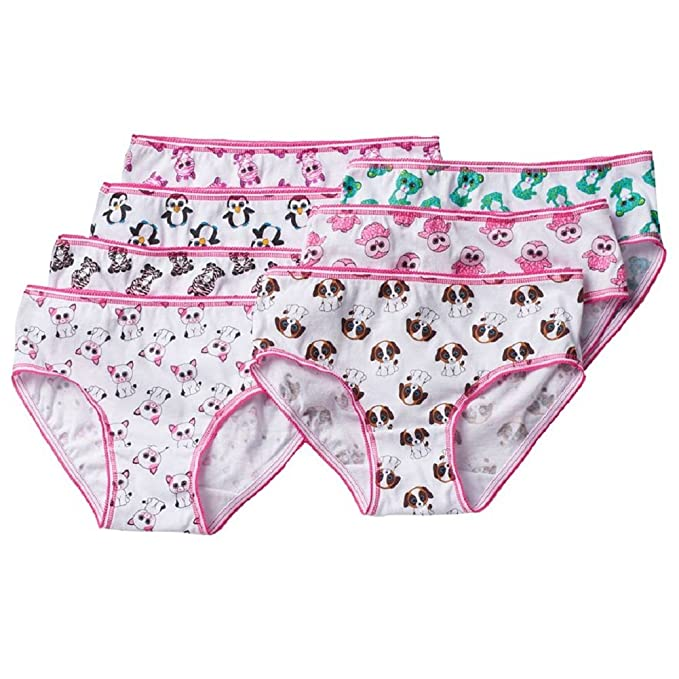 TY Beanie Boo Little Girls Beanie Boo Multipack Underwear Briefs, Multi, ...