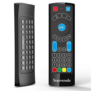 5900e55462cc51 Staxverade 3 in 1 Bluetooth Remote Control fit for Amazon Fire TV/Stick  /Android
