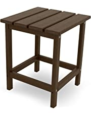 Poly-Wood ECT18MA Long Island 18-Inch Side Table, Mahogany