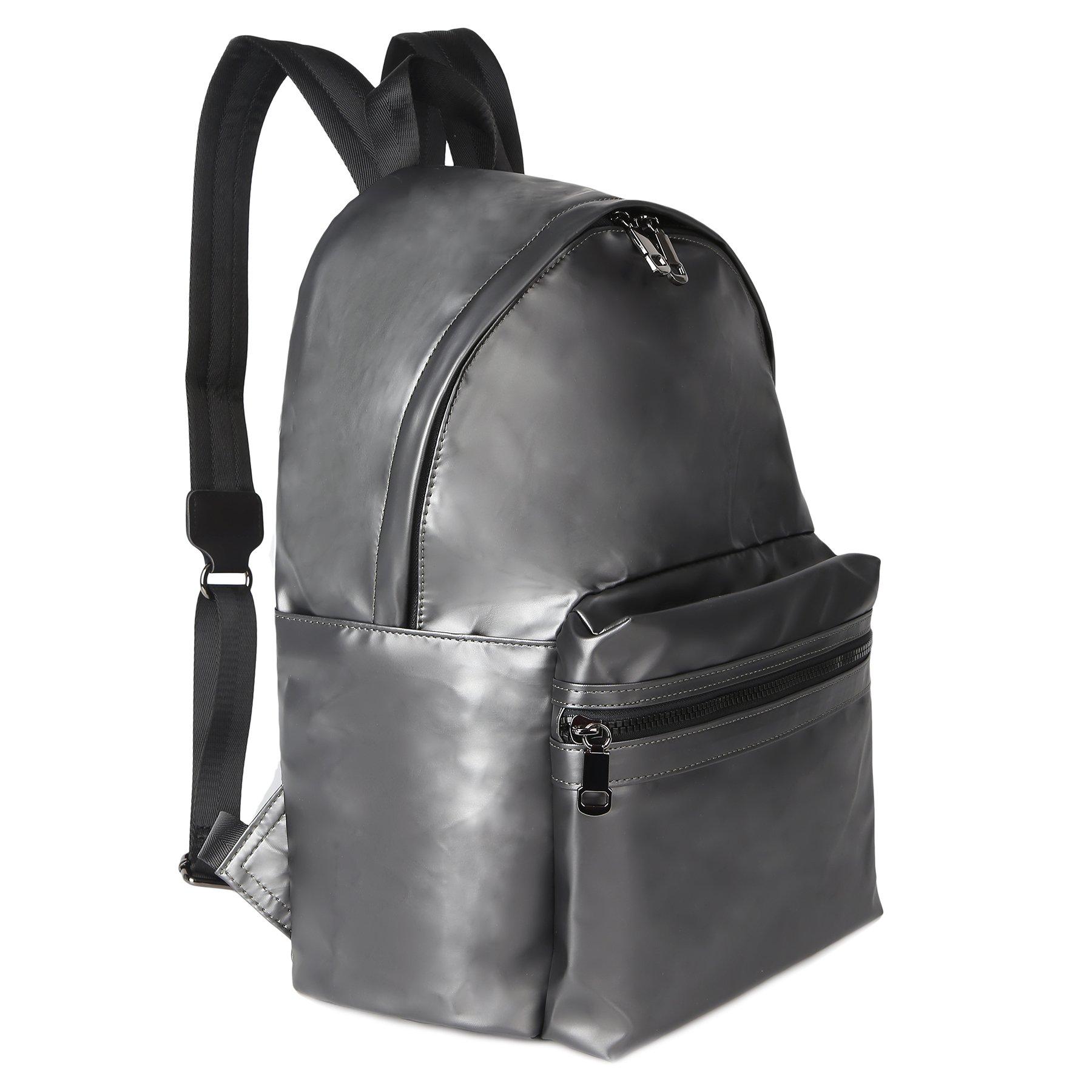 ZORFIN Fashion Nylon Backpack for Women&Men Rucksack Purse School Bags for Girls Waterproof Book Bag