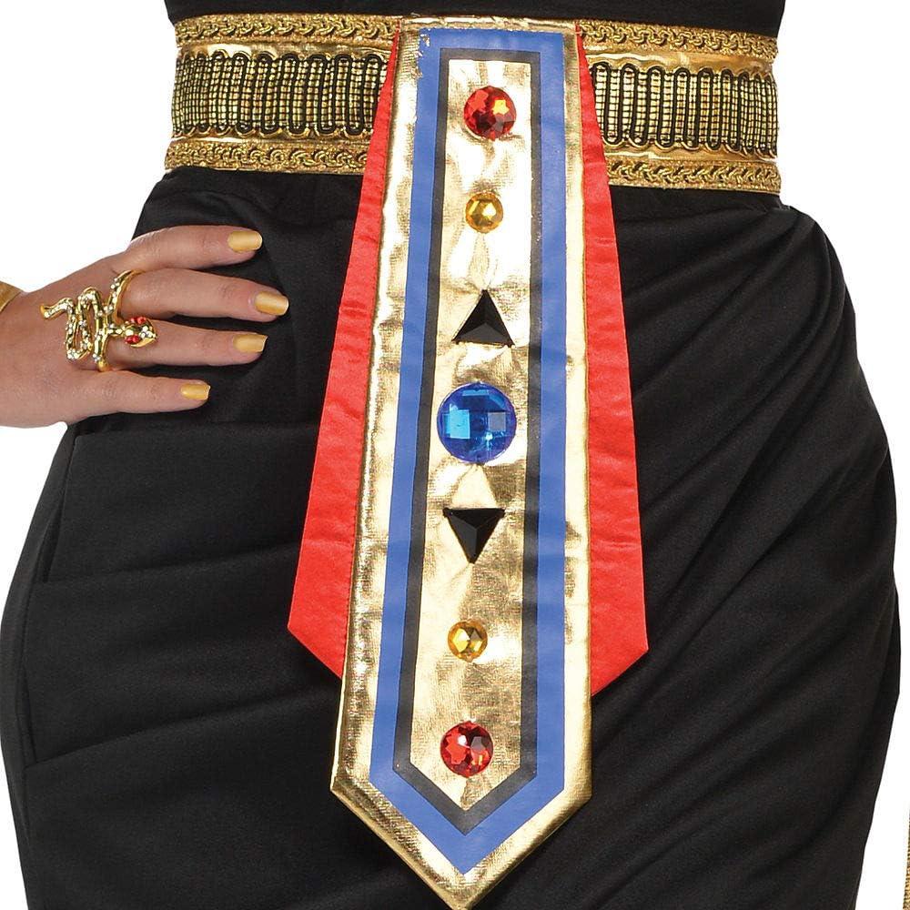 847815 UK 10-12 Amscan Dress Up- Costume da Regina egiziana Colore Non Tinta Unita