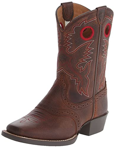 Amazon.com | Ariat Kids' Roughstock Western Cowboy Boot | Shoes