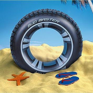 Wanxing gran flotador hinchable neumático para fiestas de piscina ...