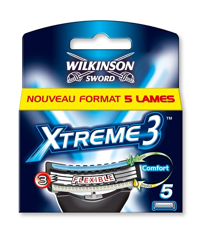 Wilkinson, Xtreme 3, Set di lamette di ricambio per rasoio, 5 pz.