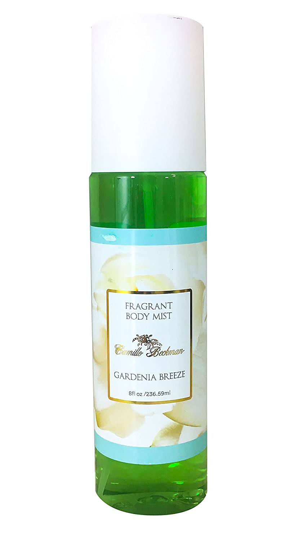 Camille Beckman Fragrant Body Mist, Alcohol Free, Gardenia Breeze, 8 Ounce