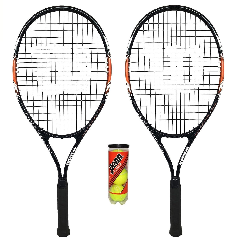 2 x Wilson matchpoint XL Tennisracket  3 ballen B01B6DFACC B01B6DFACC B01B6DFACC Tennisschlger König der Menge 3df4c6
