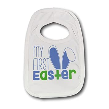 First easter bib blue babies first easter bib easter gift 1st first easter bib blue babies first easter bib easter gift 1st easter easter present new born negle Gallery