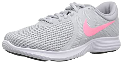 8ac3d1d18ce Nike Women s Revolution 4 Running Shoe Pure Platinum Sunset Pulse - Wolf  Grey 5 Wide