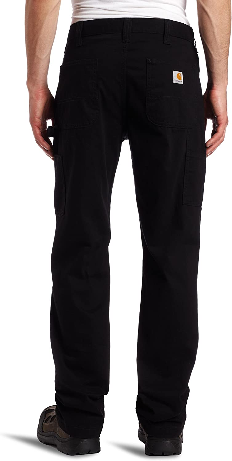Carhartt Men's Relaxed Fit Washed Twill Dungaree Pant at  Men's Clothing store: Casual Pants