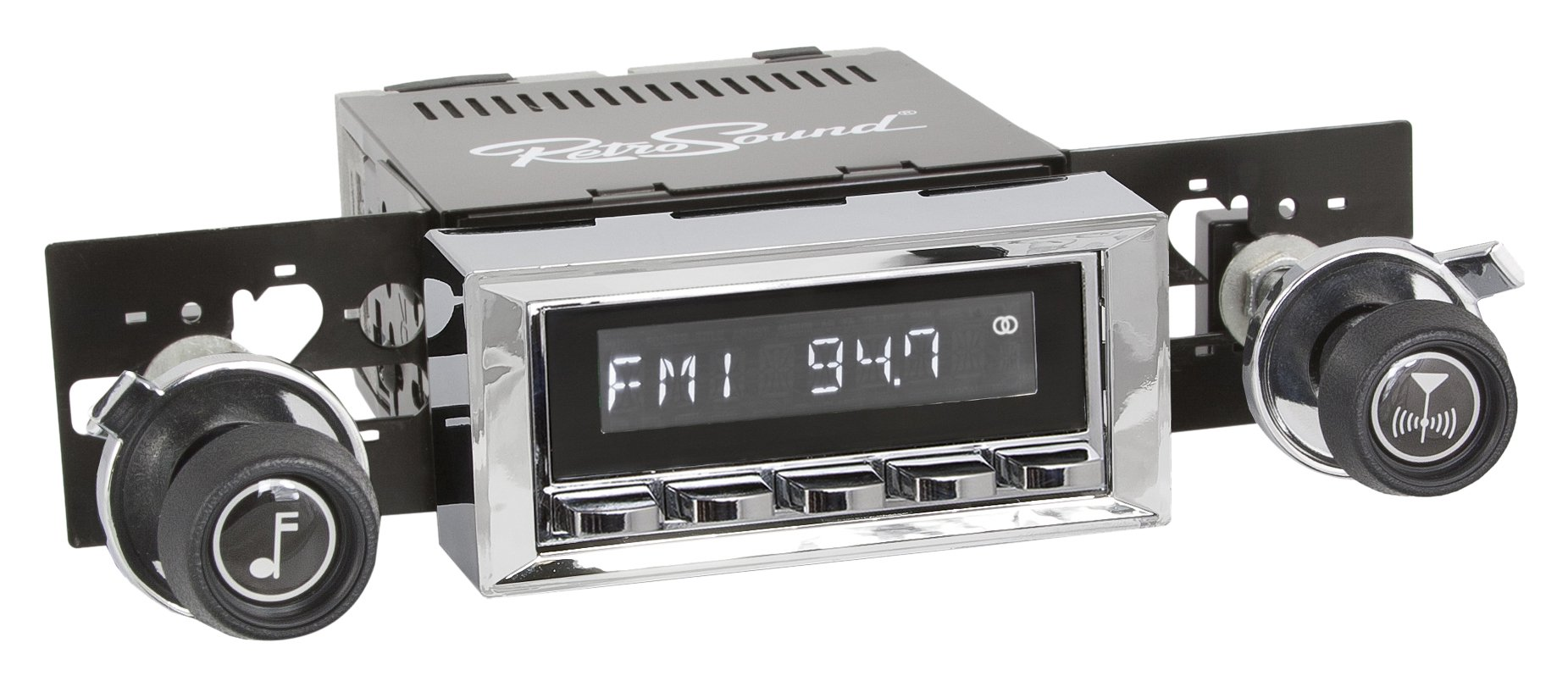 Retro Manufacturing LC-116-37-73-B 1973-85 GM Radio by Retro Manufacturing
