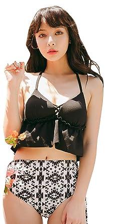 7cba2653e9e 水着 レディース ビキニ セット ペプラム 大きいサイズ 人気 可愛い 花柄 体型カバー セクシー 大人 20