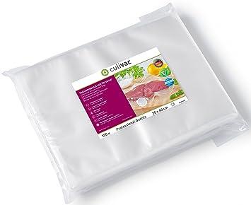 culivac Bolsas de plástico para envasar al vacío Professional de 30 x 40 cm, 100 Bolsas (B30040P)