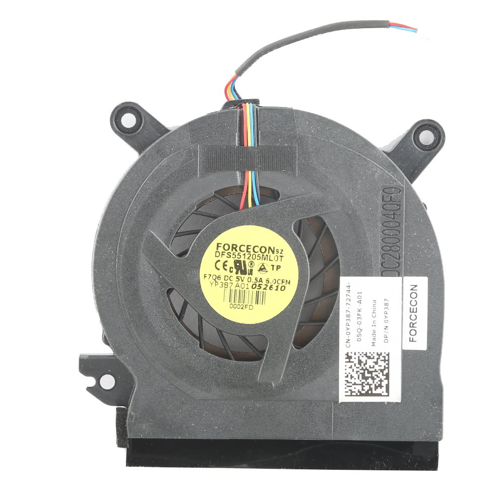 Replacement for Dell Precision M4400 Series Laptop CPU Fan