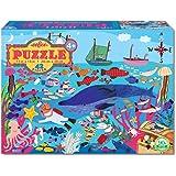 eeBoo Exploring the Deep Sea Puzzle for Kids, 42 pieces