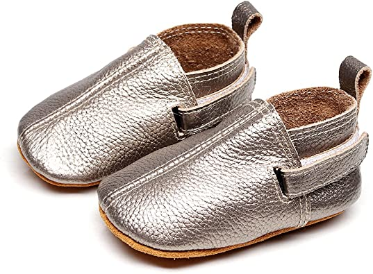 Leather Baby Shoes - Premium Soft Sole