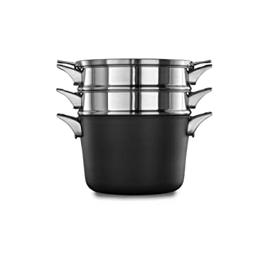 Calphalon Premier Space-Saving Hard-Anodized Non-Stick 8-Qt. Multi-Pot & Lid