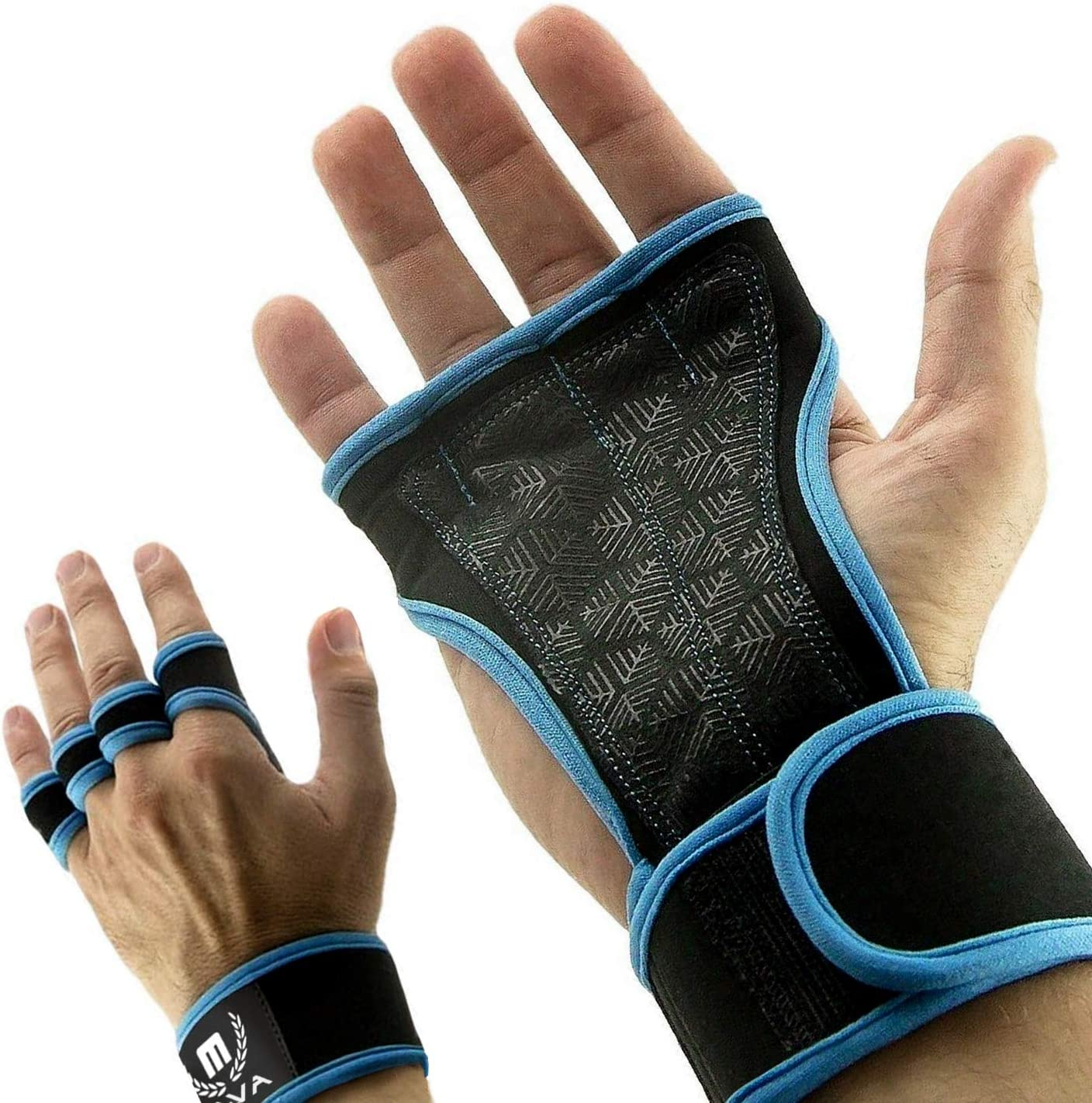 Cross Training Gloves with Wrist Support for WODs,Gym Workout,Weightlifting & Fitness-Silicone Padding, No Calluses-Suits Men & Women-Weight Lifting Gloves for a Strong Grip