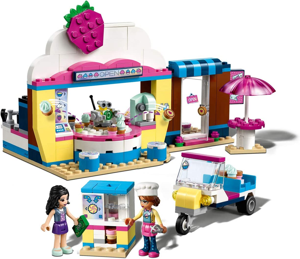 LEGO Friends Olivia/'s Cupcake Caf/é 41366 Building Kit 335 Pieces