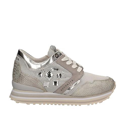 APEPAZZA scarpe donna sneakers basse RSD03 MATERIALMIX RUBY GHIACCIO   Amazon.it  Scarpe e borse d1f79bbd8e4