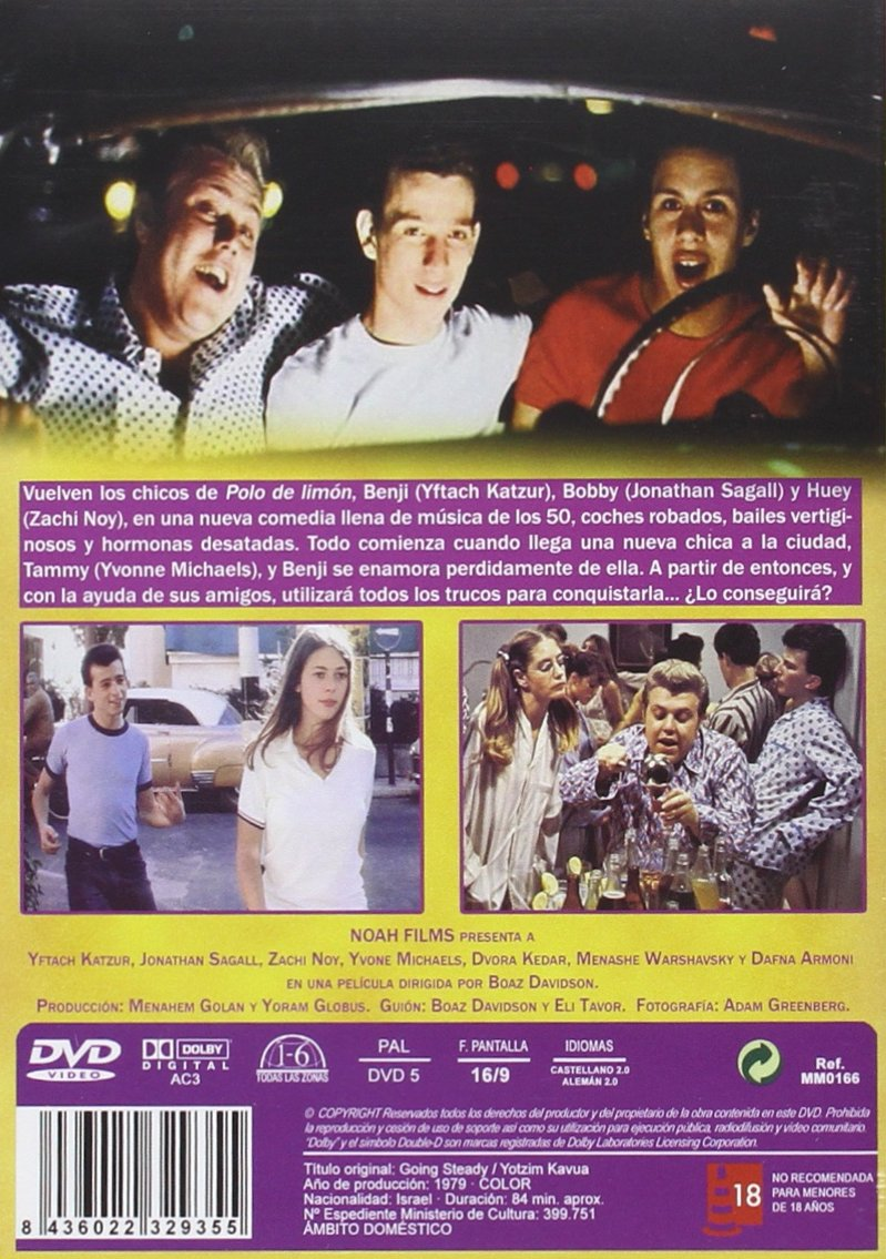 Polo de limon 2: En continuo movimiento [DVD]: Amazon.es: Yftach ...