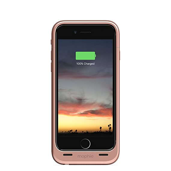 buy online 7c381 60423 mophie juice pack air - Slim Protective Mobile Battery Pack Case for iPhone  6/6s - Rose Gold