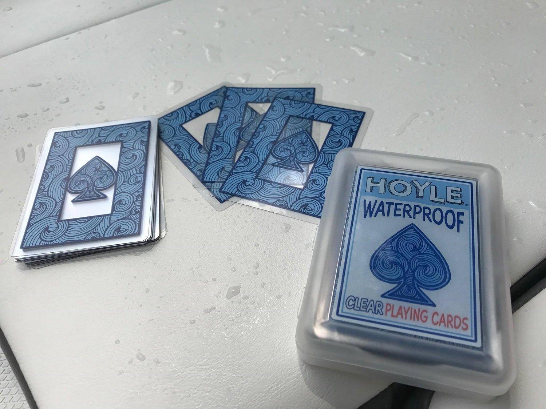Amazon.com: Hoyle. Impermeable Transparente jugando a las ...