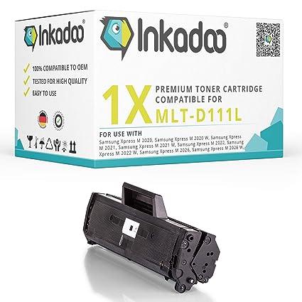 Inka Doo® Cartucho compatible con Samsung Xpress M 2026 ...