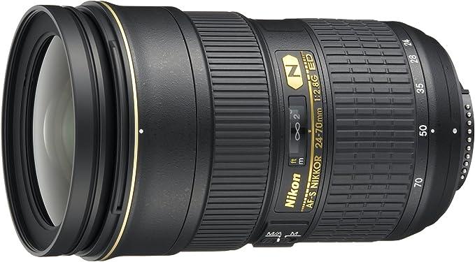 Nikon Af S Zoom Nikkor 24 70mm 1 2 8g Ed Objektiv Inkl Elektronik