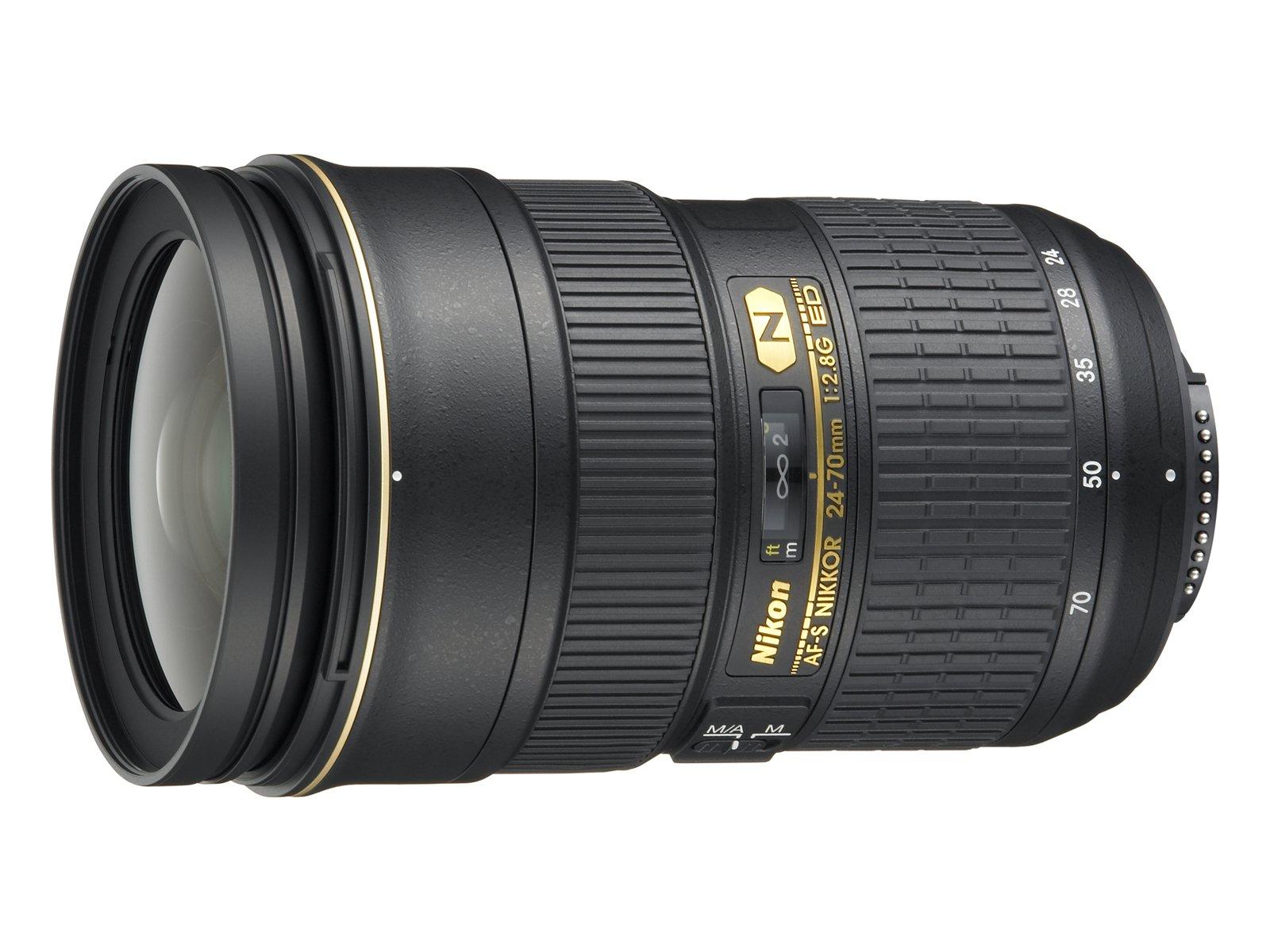 Nikon AF-S FX NIKKOR 24-70mm f/2.8G ED Zoom Lens with Auto Focus for Nikon DSLR Cameras by Nikon