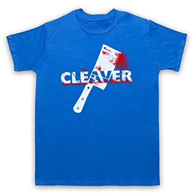 Inspiriert durch Sopranos Cleaver Film Inoffiziell Herren T-Shirt, Blau,  Small