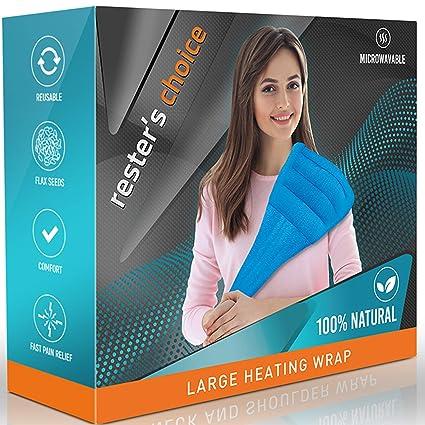 Amazon.com: Envoltorio térmico natural para hombro y cuello ...