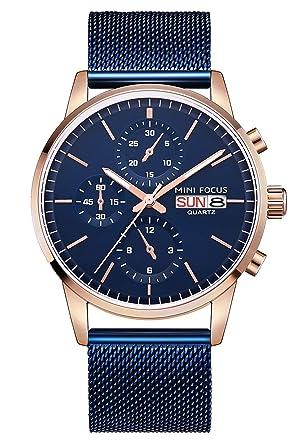 898d9ab59d Amazon | 腕時計 メンズ時計 軽量アナログ 防水 ビジネス シンプル ファッション クオーツウォッチ | 腕時計 | 腕時計 通販