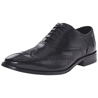 Cole Haan Men's Williams Wingtip Oxford, Black, 10 M US