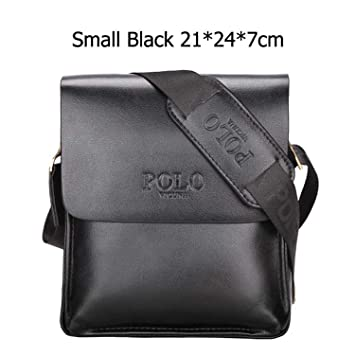 4235f265738 Image Unavailable. Image not available for. Color  Famous Brand Leather Men  Bag Casual Business Messenger Bag For Vintage Men s Crossbody Bag Male  Shoulder