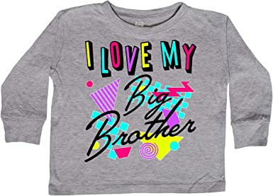 inktastic Awesome Big Sister 80s Retro Style Toddler T-Shirt
