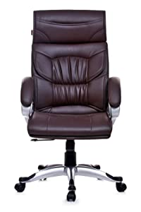 Adiko Brown Elegant Executive High Back, Office Chair, Revolving Chair, Manager Chair
