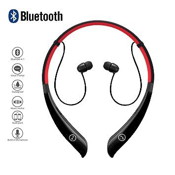 Alta calidad Inalámbrico Auriculares Bluetooth de diadema y micrófono manos libres para iPhone Samsung LG teléfonos sonido estéreo Smart libres de ruido ...