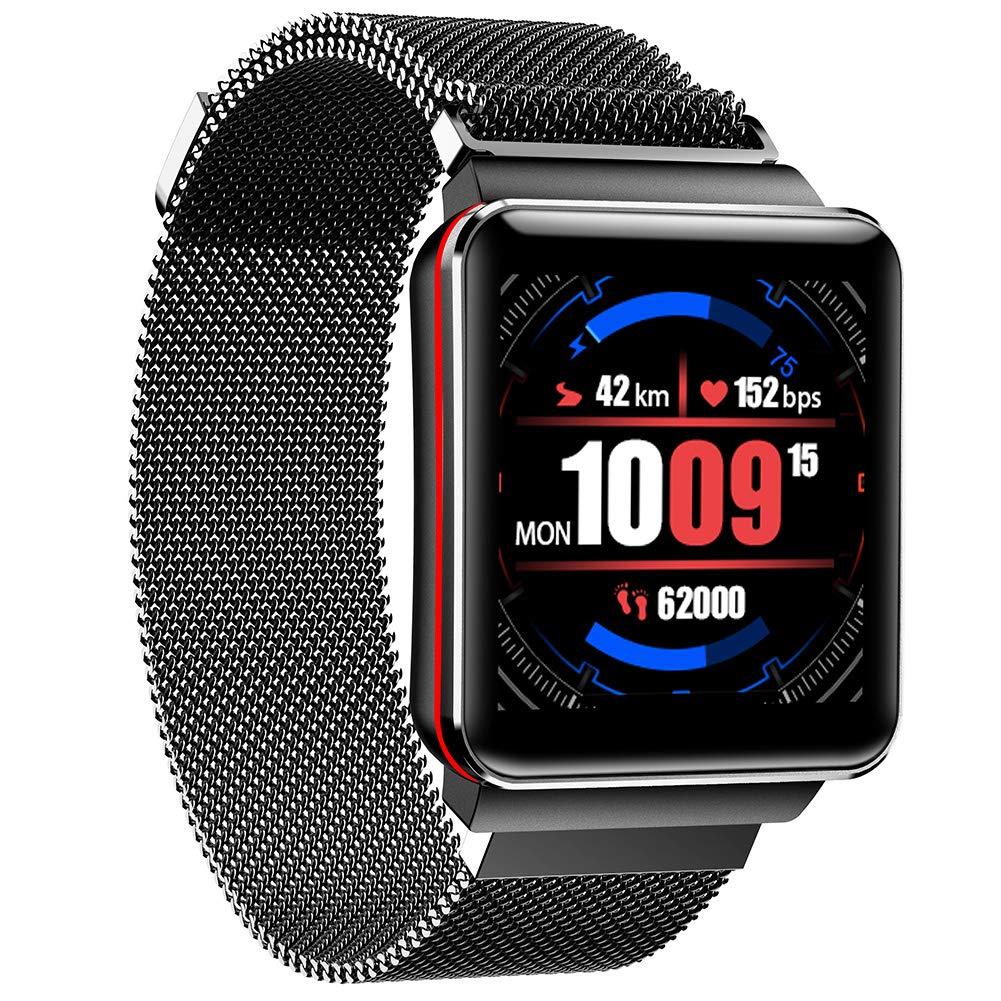 DLIBIG Smartwatch con Pulsometro Integrado,Impermeable IP67 Reloj ...