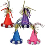 Cone Hat Hair Clips Asstd Colors Party Accessory 1 Count